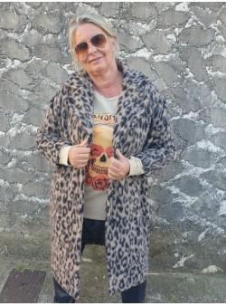 manteau leo beige wiya by banditas Nouveautés vetement et accessoires femme
