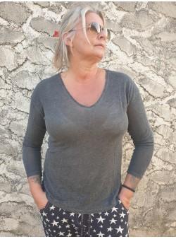 teeshirt ancona grey banditas Nouveautés vetement et accessoires femme
