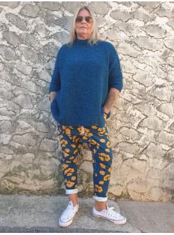 sarouel felpa bleu chantalb Nouveautés vetement et accessoires femme