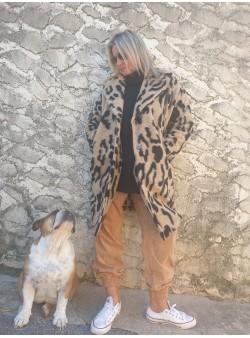 manteau wiya beige by banditas Nouveautés vetement et accessoires femme