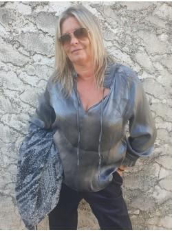 tunique silver banditas Tuniques vetement et accessoires femme